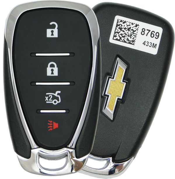 2017 Chevrolet Cruze Smart Keyless Entry Remote Key