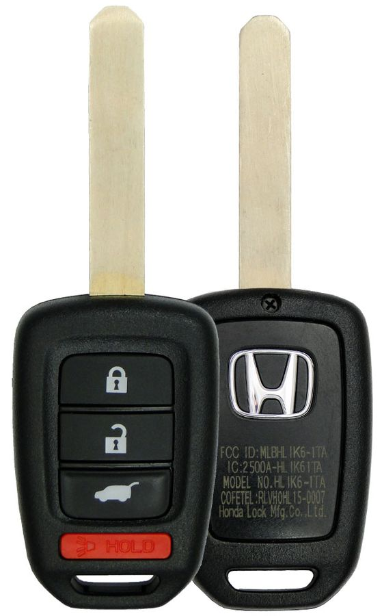 2017 Honda Civic Sedan remote key 35118-TGG-A00 35118TGGA00 MLBHLIK6-1TA