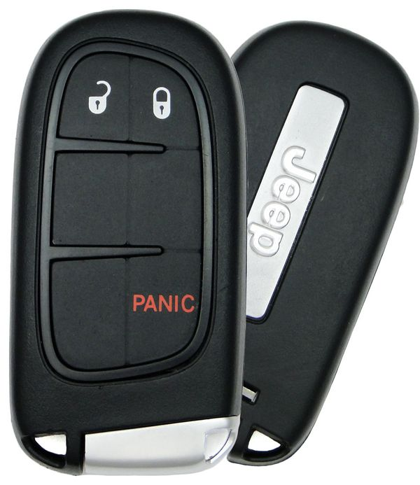 2017 Jeep Cherokee Smart Keyless Entry Remote Start Keyless Enter - N - Go 68105087AC  GQ4-54T