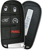 2017 Jeep Compass Smart Key Fob w/ Engine Start Pwr Liftgate - refurbished