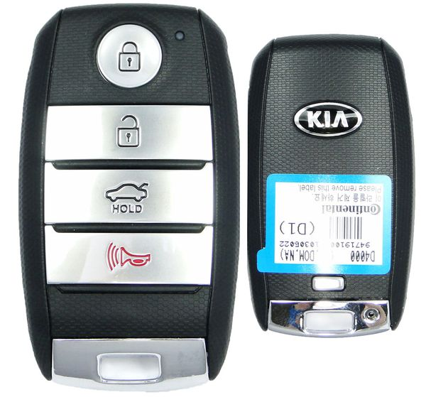 2017 Kia Optima Keyless Entry Remote 95440-D4000 95440D4000