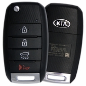 2017 Kia Rio Keyless Entry Remote Flip Key