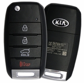 2017 Kia Sorento Keyless Entry Remote Key
