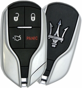 2017 Maserati Quattroporte Smart Keyless Entry Remote Key