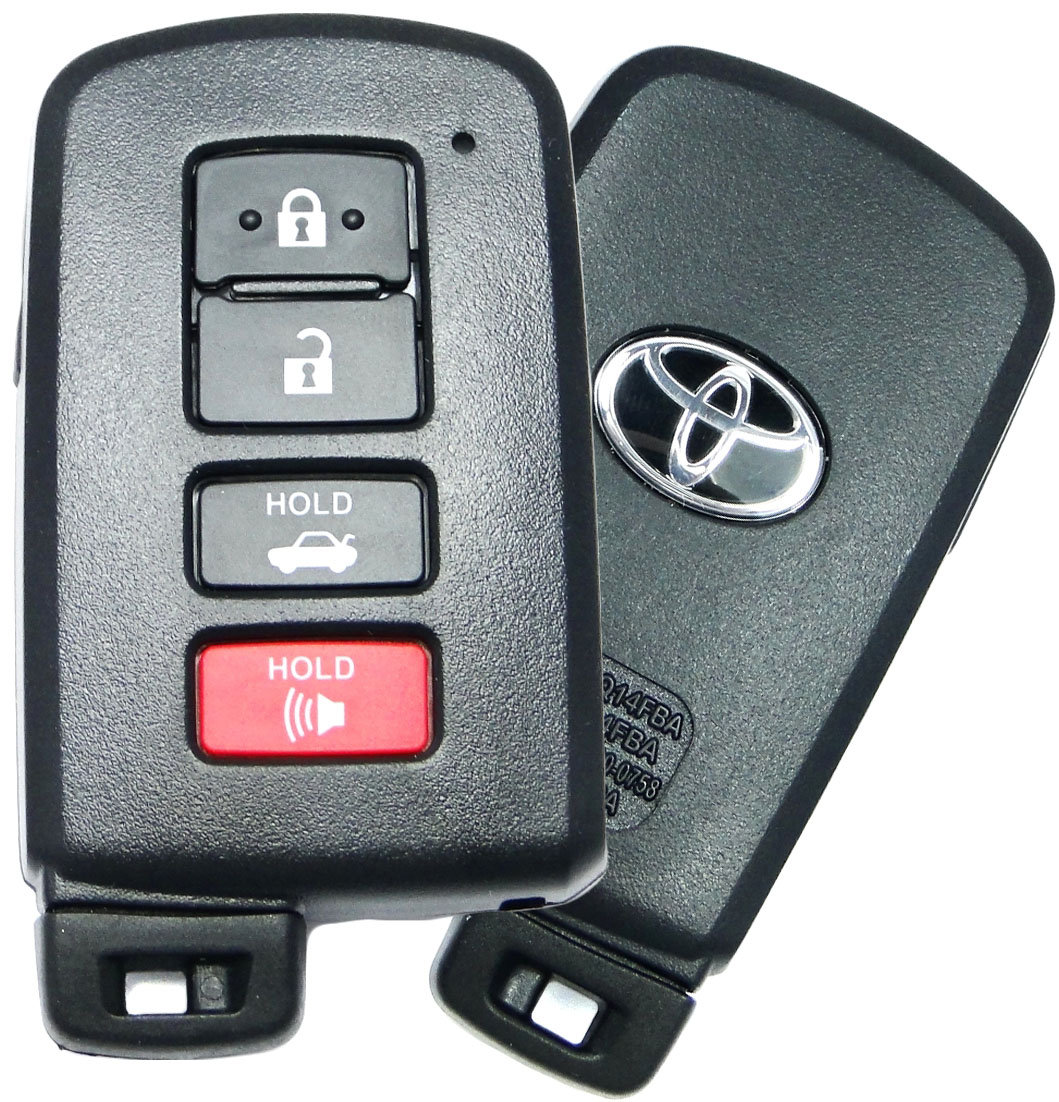 2009 toyota camry remote key battery type
