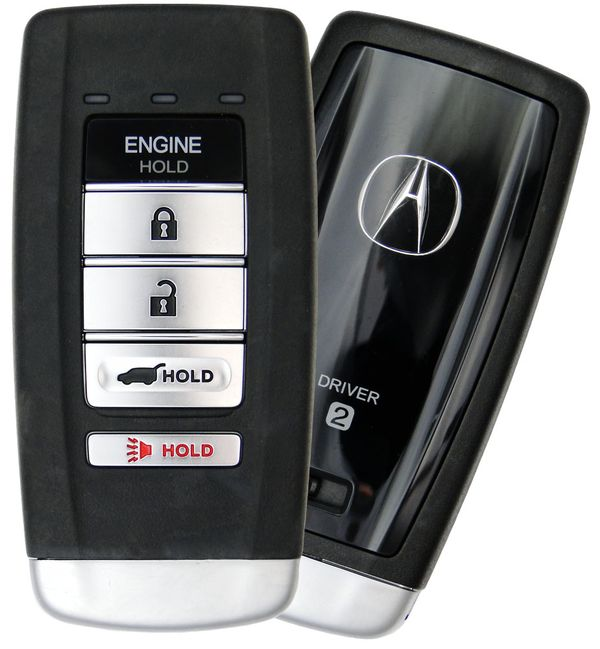 2018 Acura MDX Smart Keyless Entry Remote Start Key Driver