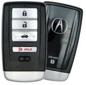 2018 Acura RLX Smart Keyless Entry Remote Key Driver 1