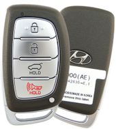 2018 Hyundai Ioniq Smart Entry Remote Key