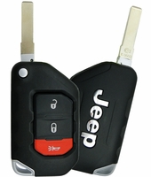 2018 Jeep Wrangler Keyless Entry Remote Key