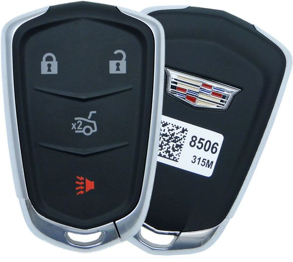 2019 Cadillac CTS Prox Smart Key Fob Entry Remote 13510253 13598506 13594023