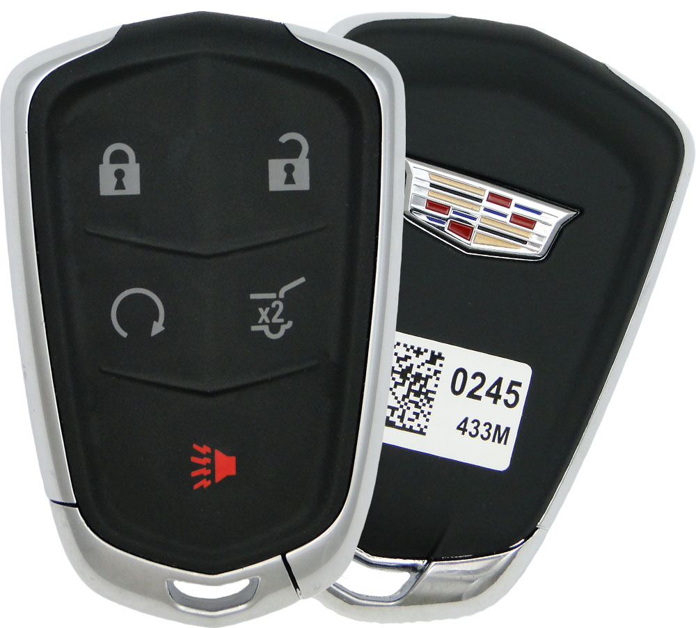 2019 Cadillac XT5 Smart Remote Keyless Entry Key Fob