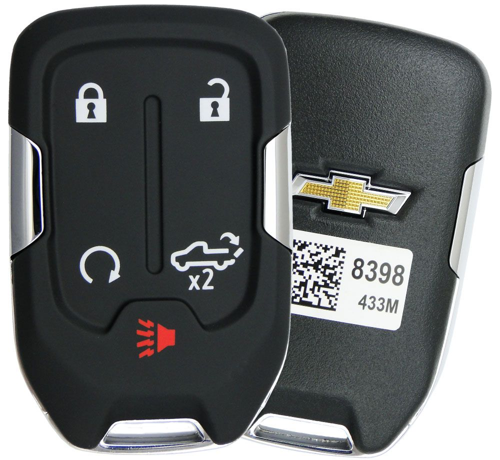 2019 Chevrolet Silverado Remote Keyless Entry Key Fob 13508398 HYQ1EA
