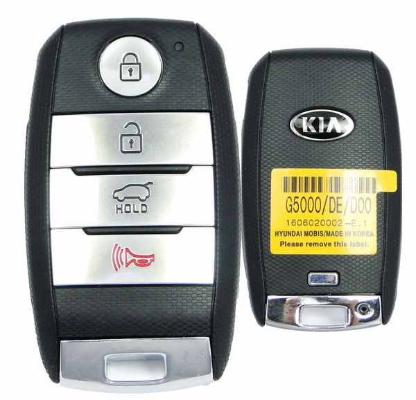 2019 Kia Niro Remote Keyless Entry Smart Key Fob