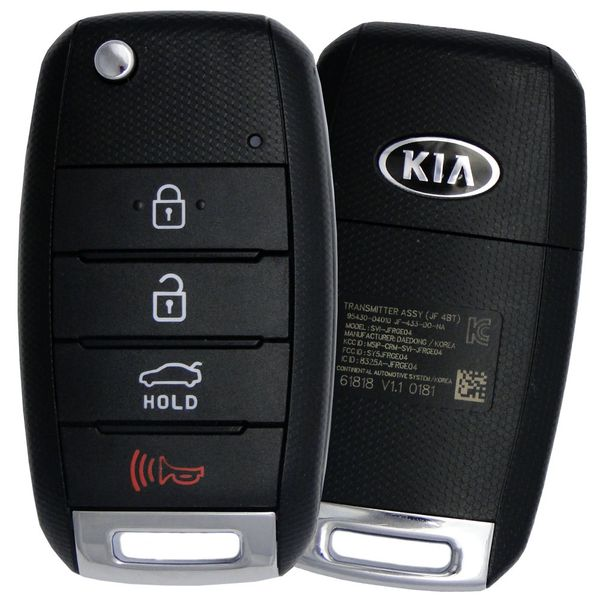 2019 Kia Optima Keyless Entry Remote 95430-D4010, 95430D4010, SY5JFRGE04