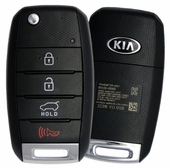 2019 Kia Sportage Keyless Entry Remote Flip Key