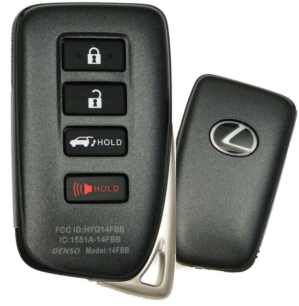 2019 Lexus RX350 Keyless Entry Remote Key Fob HYQ14FBB 89904-0E160, 899040E160
