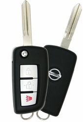 2019 Nissan Rogue Keyless Entry Remote Flip key