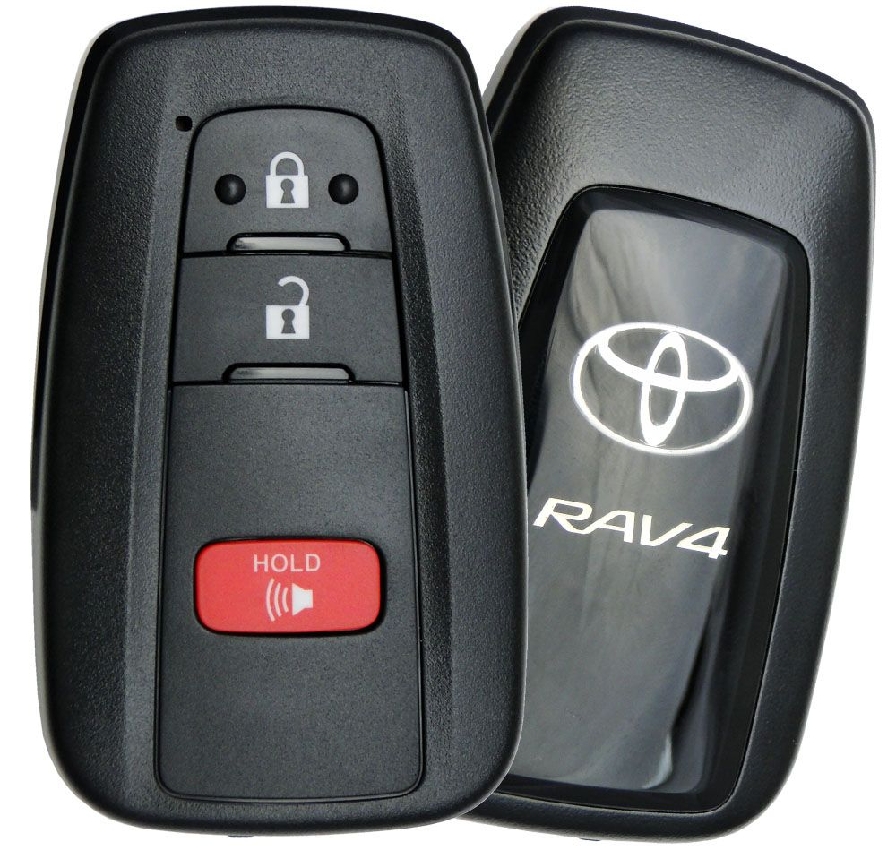 2019 Toyota Rav4 Smart Remote Keyless Entry Key Fob Transmitter Hyq14fbc