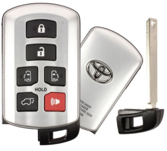 2019 Toyota Sienna Smart Proxy Remote Keyless Entry