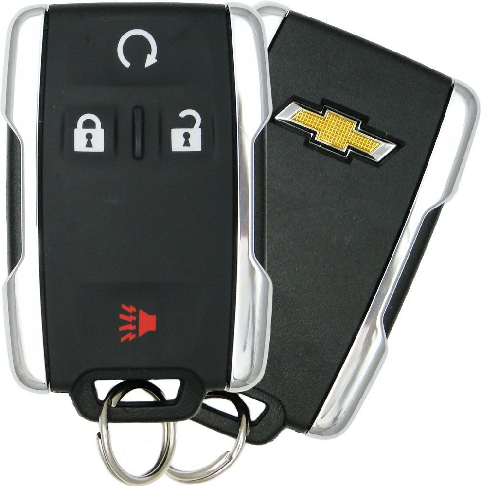NEW PAIR GM 2015 2016 2017 CHEVY COLORADO KEYLESS ENTRY REMOTE FOBS TRANSMITTERS
