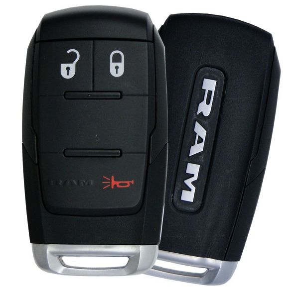 2020 Dodge Ram Truck Smart Keyless Entry Remote, 68375455AC, 68375455AA, 68375455AB, GQ4-76T, GQ476T