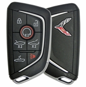 2021 Chevrolet Corvette Convertible Smart Keyless Entry Remote