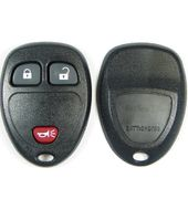 3 Button Buick, Chevy, Pontiac, Saturn Minivan Remote Replacement Case