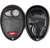 3 button Chevrolet, GMC, Olds, H3, Pontiac replacement remote case/shell