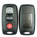 3 button Mazda keyless remote replacement case, shell with buttons