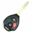 3 Button Toyota Scion Remote Replacement Case Shell with Key