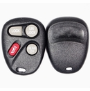 4 Button Buick, Cadillac, Chevy, Pontiac, Saturn Remote Keyfob Replacement case