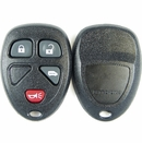 4 Button Buick, Chevy, Pontiac, Saturn Minivan Remote Replacement Case - power door