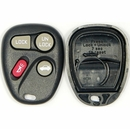 4 button Buick, Pontiac, Oldsmobile Remote replacement case/shell