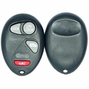 4 Button Chevrolet, Pontiac, Oldsmobile Minivan Remote Replacement case L2C0007T
