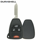 4 button Chrysler Dodge Jeep DURASHELL case/shell with blank key