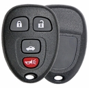 4 Button GM Remote Replacement Case w/Trunk