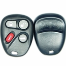 4 Button keyfob case for GM KOBLEAR1XT remotes