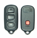 4 Button Toyota 4Runner, Sequoia Remote Replacement Case Shell