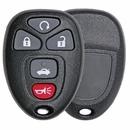 5 Button Buick, Cadillac, Chevy, Pontiac, Saturn Remote Replacement case 22733524