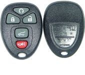 5 Button Cadillac, Chevy, Pontiac, Saturn Remote Replacement case 25839476