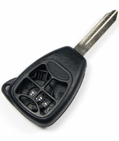 5 button Chrysler Dodge Jeep replacement case/shell with blank key