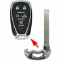 GM CHEVROLET EMERGENCY INSERT BLADE 13589533 13590048 HU100 FOR SMART KEYS HYQ4EA HYQ4AA'