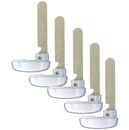 5 PACK - EMERGENCY INSERT KEY FOR ACURA SMART REMOTES PN: 35118-TY2-A00