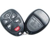 6 Button Buick, Chevy, Pontiac, Saturn Van Remote Replacement Case