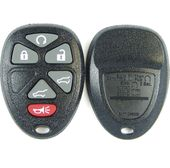 6 button GM Chevy, GMC, Cadillac SUV keyless entry remote case, shell