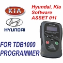 ASSET 011 Hyundai and Kia Software Key and Proximity Programming for TDB1000 - The Diagnostic Box
