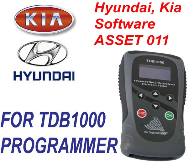 TDB1000 ASSET 011 Hyundai and Kia Software Key and Proximity Programming - The Diagnostic Box