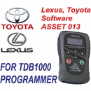 ASSET 013 LEXUS and TOYOTA Software Key and Proximity Programming for TDB1000 - The Diagnostic Box
