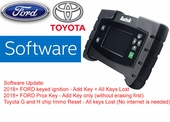 AUTEK IKEY820 SOFTWARE FOR FORD 2018+ AND TOYOTA G AND H CHIP