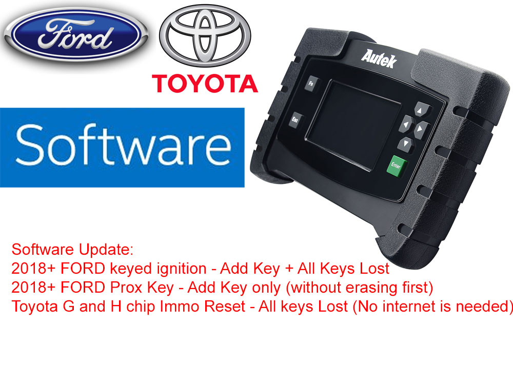 Software update AUTEK IKEY820 IKEY 820 KEY AND REMOTE